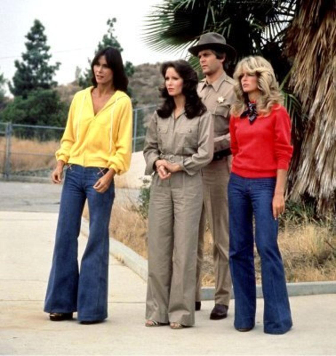 1970s Wide-Leg Pant Cut Apparel