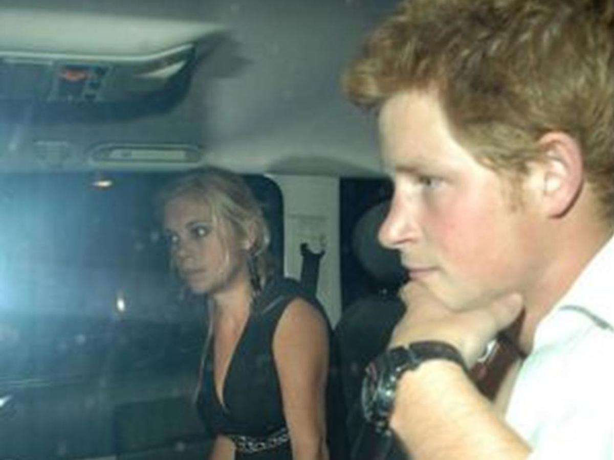 Prince Harry wearing a GShock.