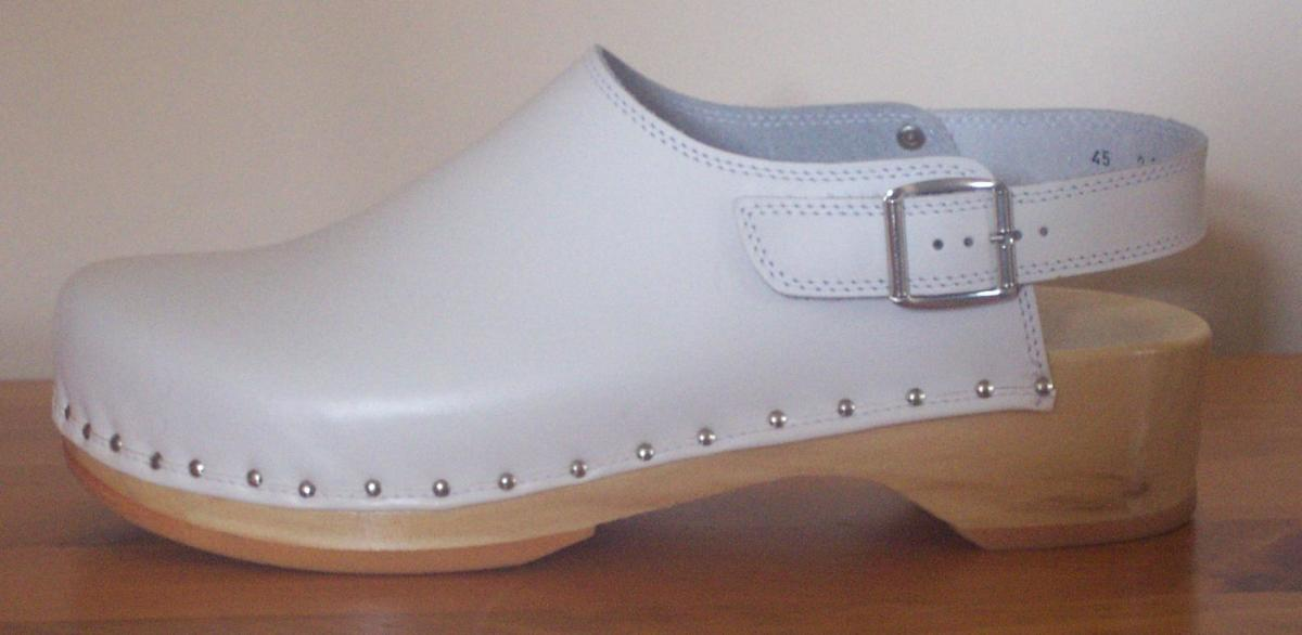 Clog - an old shoe style that was revived in the 1960s