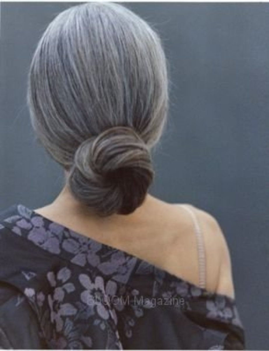 This perfect chignon is one of my favorites