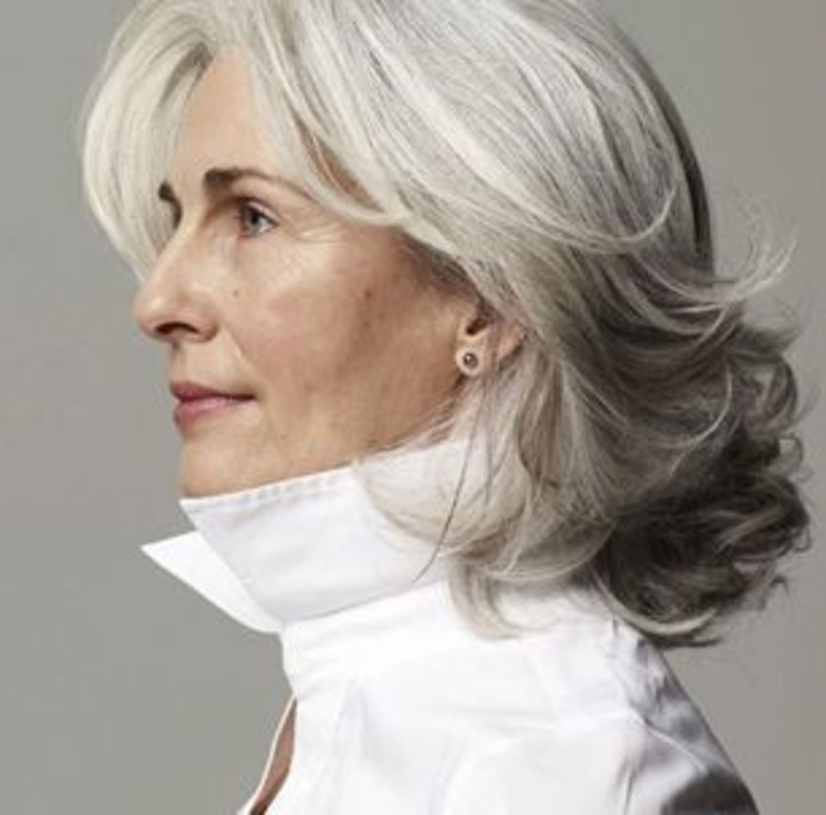 Enjoyable The Silver Fox Stunning Gray Hair Styles Bellatory Hairstyle Inspiration Daily Dogsangcom