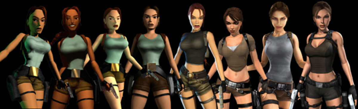 Evolution of Lara throughout the years. (Rivendell)