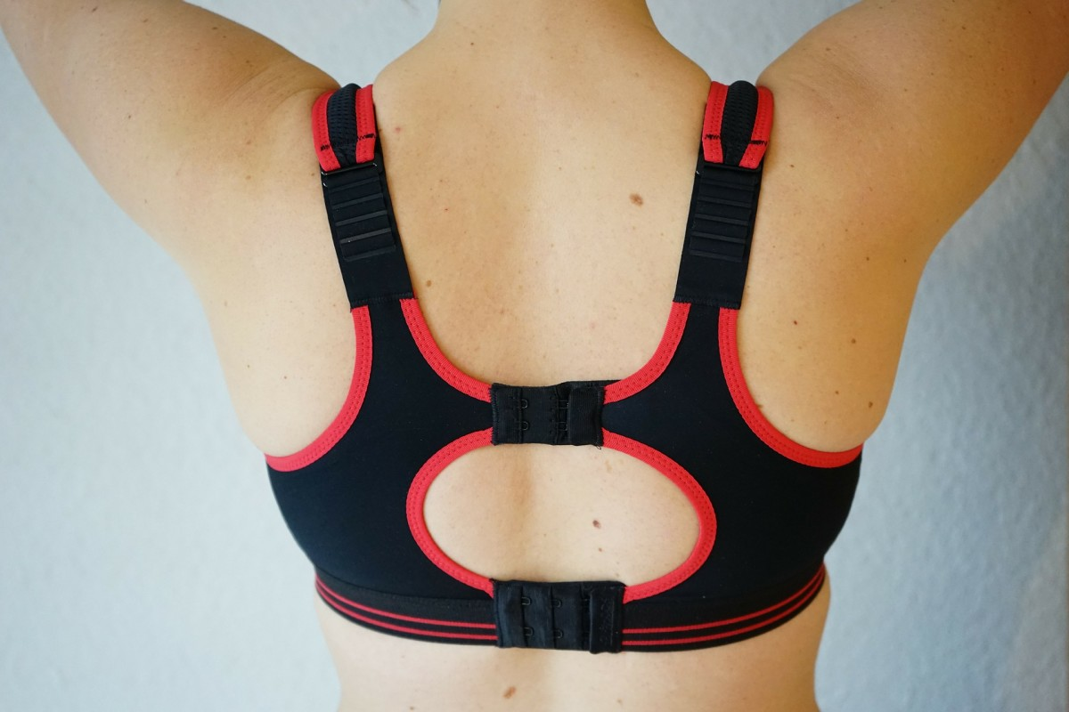 An adjustable sports bra can help you get the perfect fit and prevent chafing.