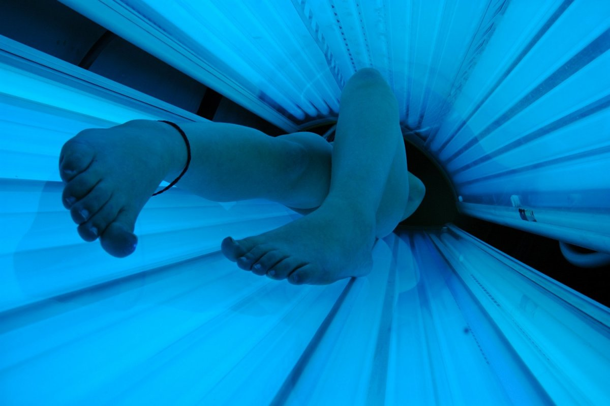 Tanning beds should be avoided by pale or fair-skinned individuals.