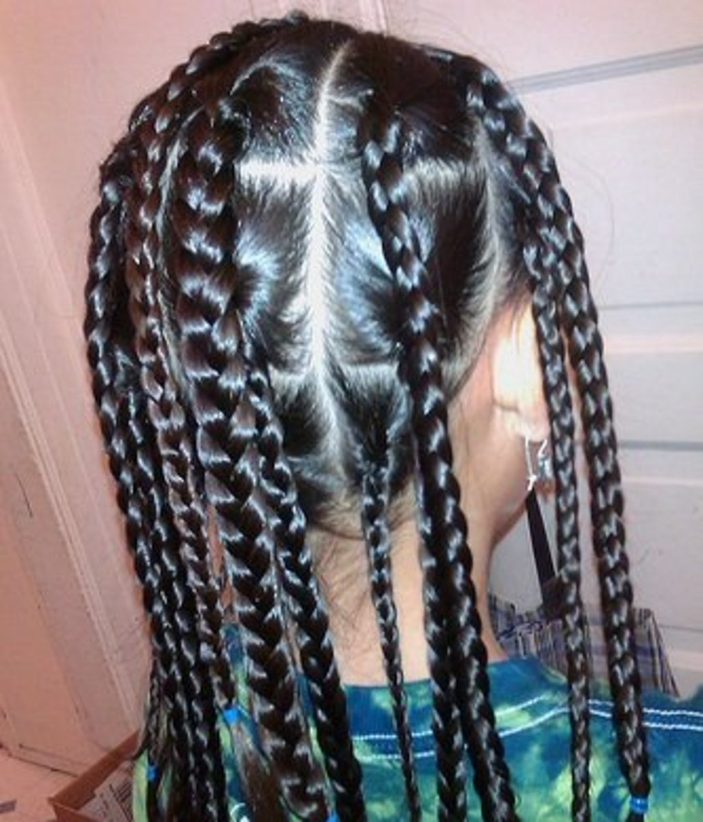 Leaving braids in overnight isa great way to get curls without much effort.