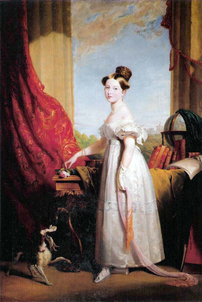 Princess Victoria in 1833