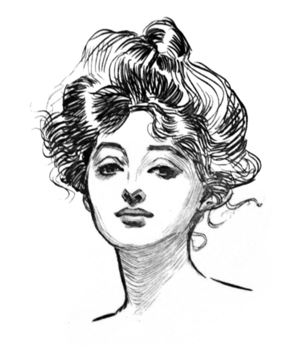 victorian hair style