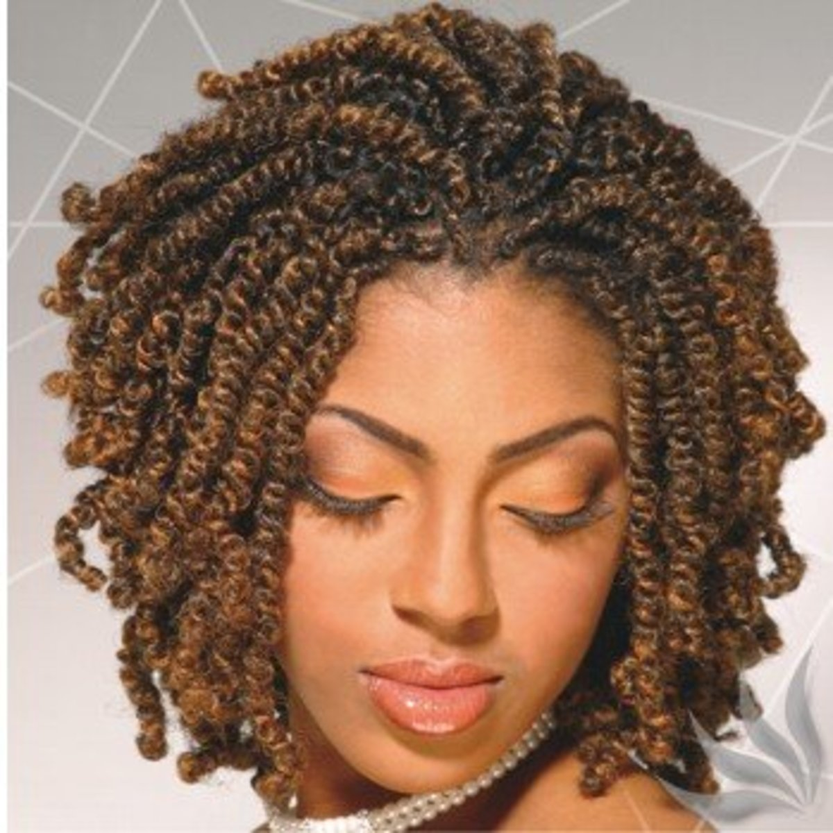 Hairstyles for Natural Black Hair: Twist Out