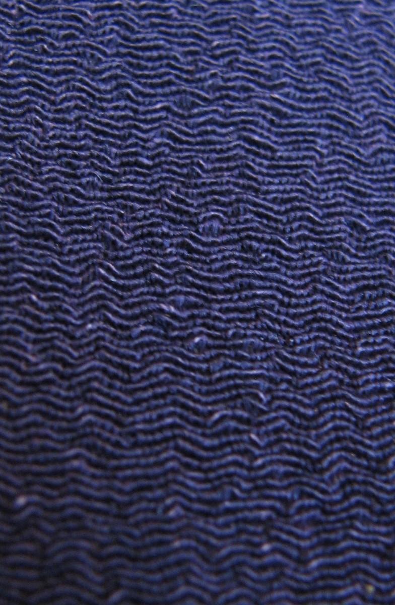 Chirimen silk kimono fabric