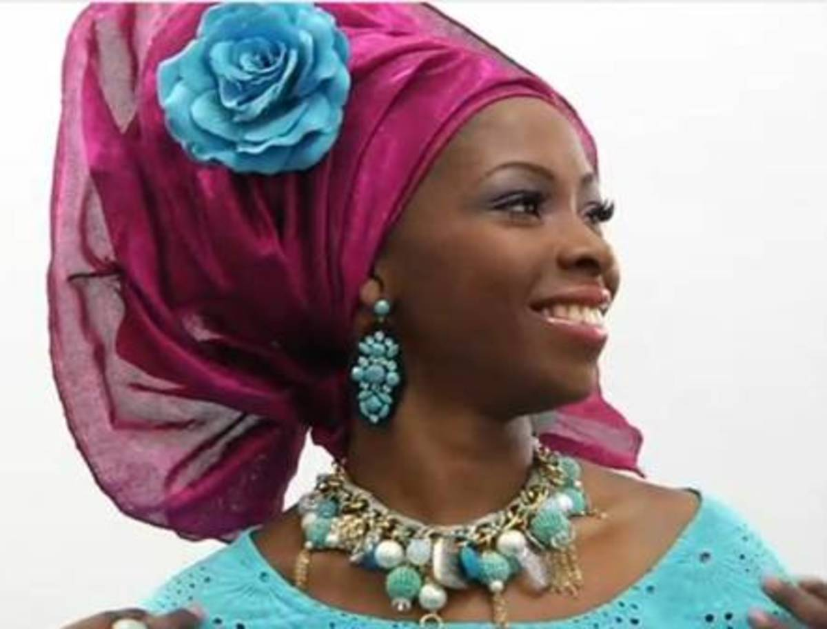 Net Gele - Not your ordinary Gele!