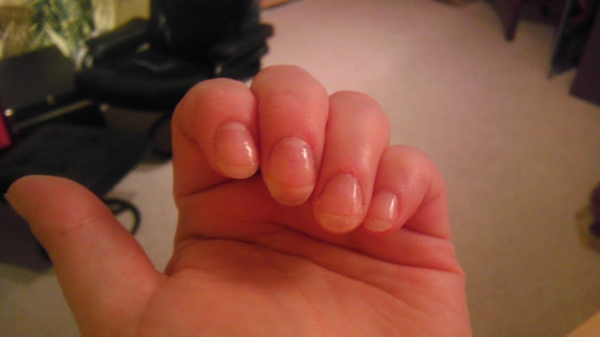 It took two full months, but I have nails now! I'm still battling with cuticles, but it looks like I'm finally winning.