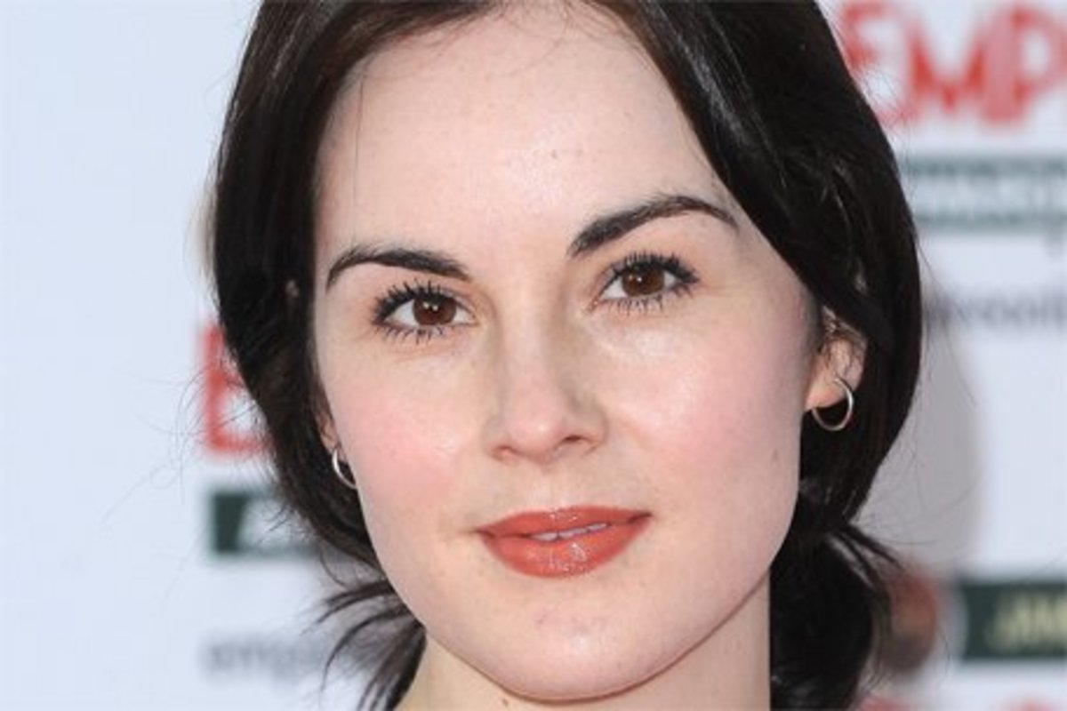 Michelle Dockery, Lady Mary of Downton Abbey