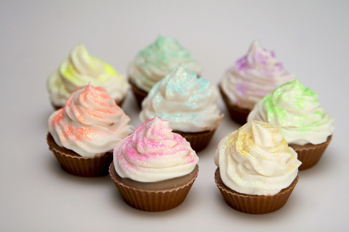 """Icing your """"cupcakes"""" will take them to the next level and make them look even more realistic. Warning: Do not eat!"""
