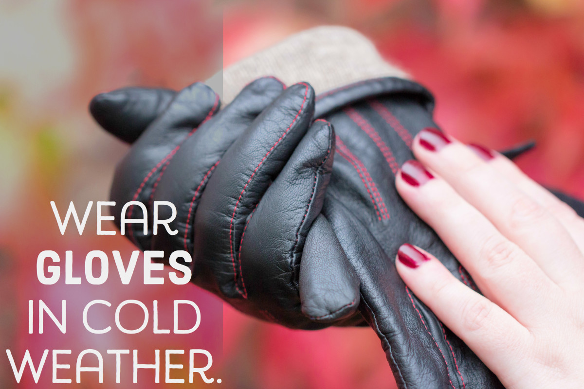 Remember, gloves are your nails' best friend!
