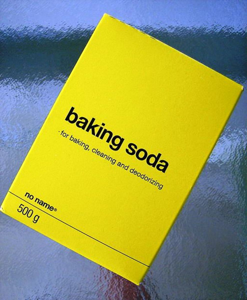 When choosing a baking soda, avoid no name brands and others that contain aluminum.