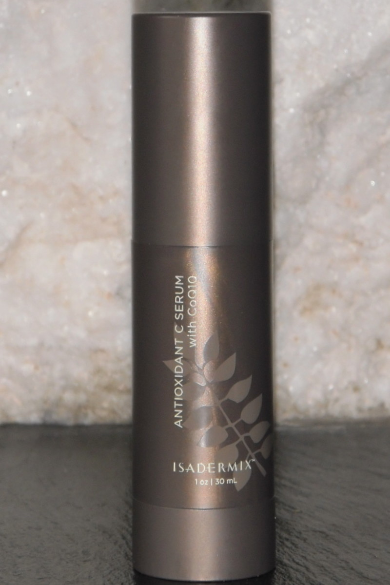 I love the feel of a gentle facial massage with this anti-oxidant rich serum, which stays on all night.