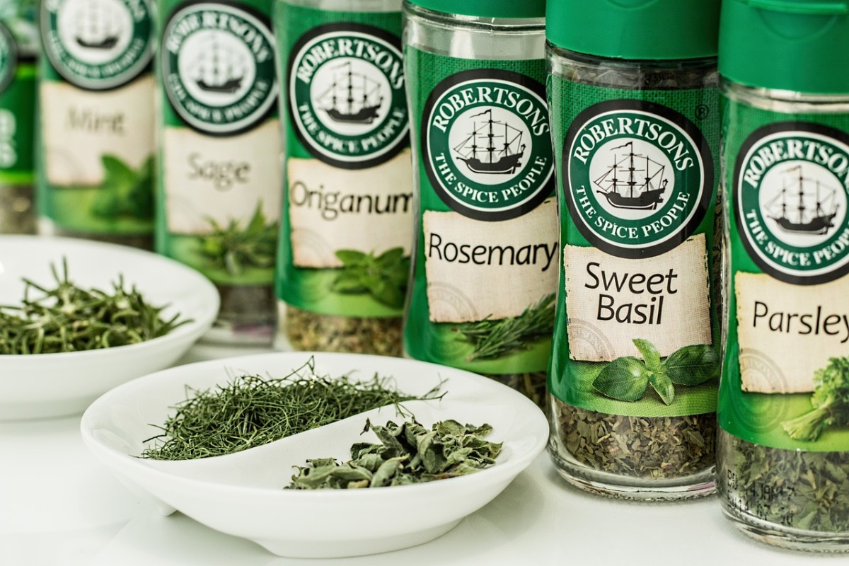 A dash of rosemary and/or sage might improve your hair health