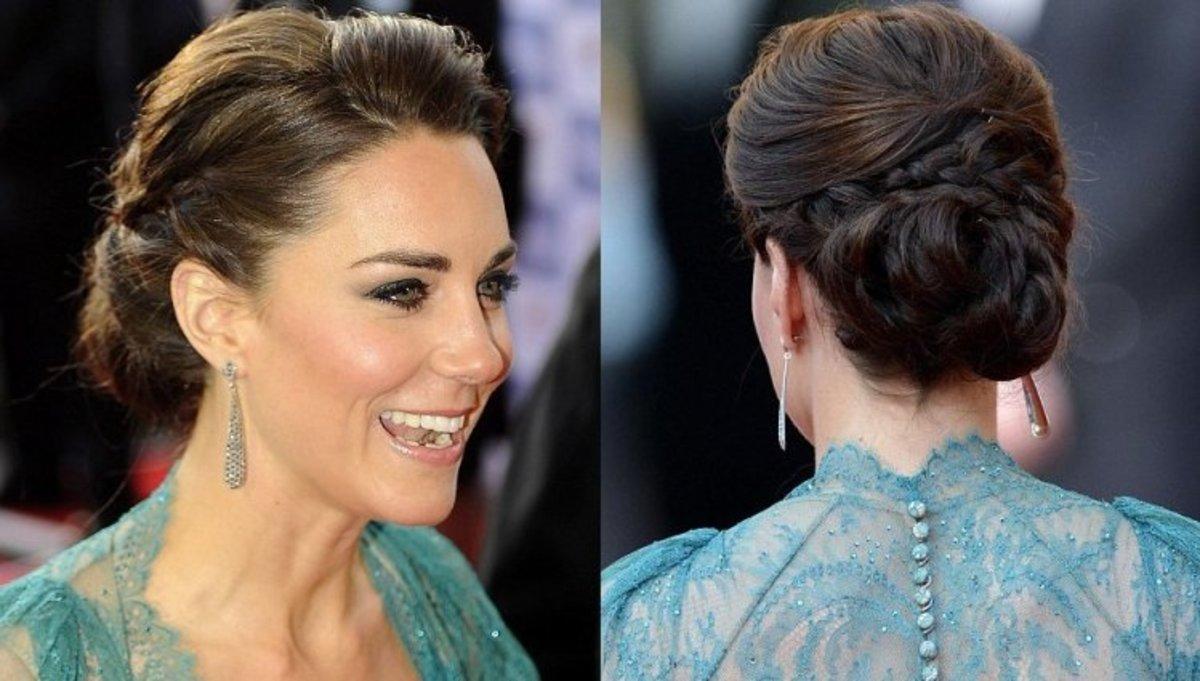 Jak zrobić kok w stylu Kate Middleton?