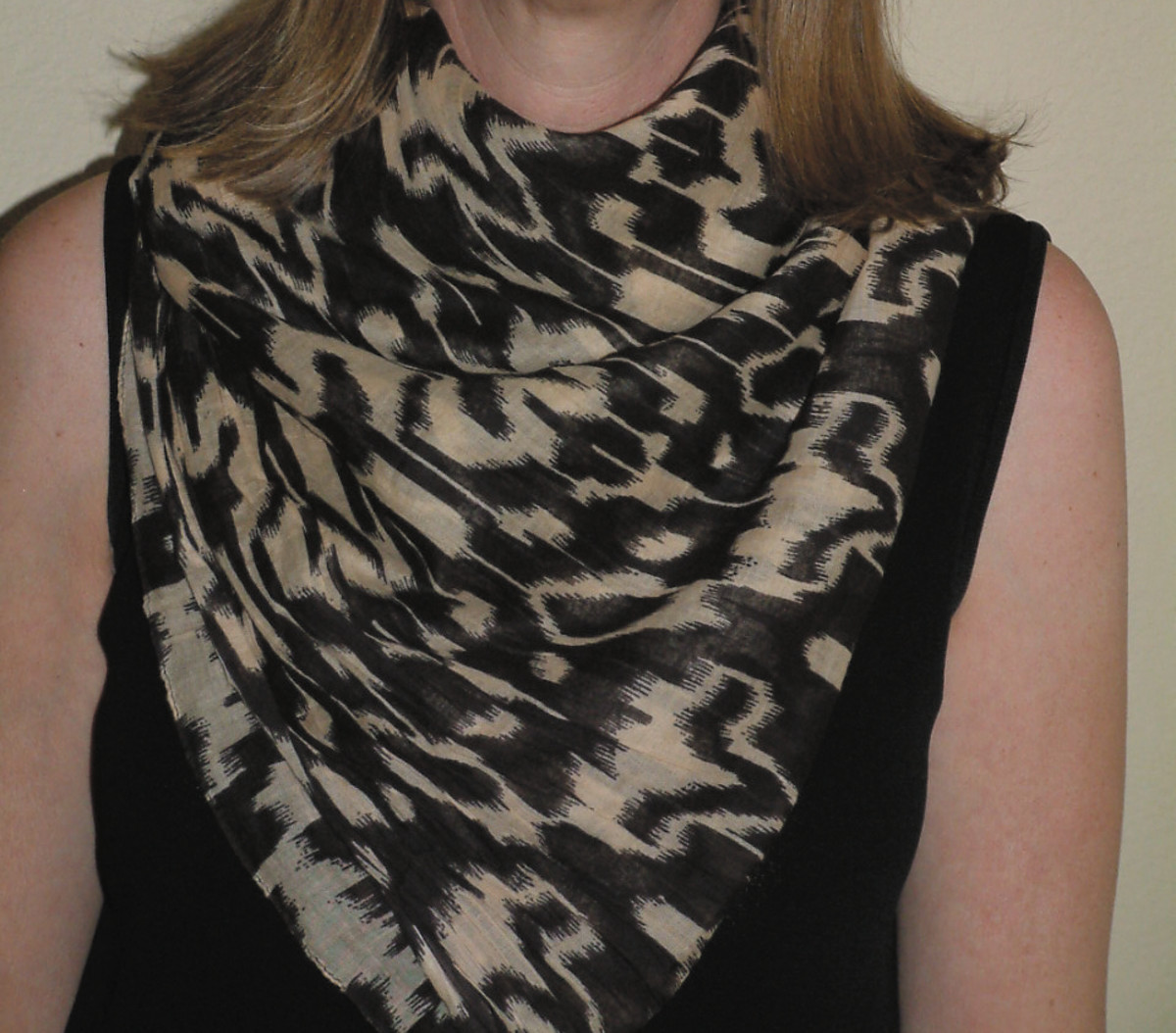 A perfect muffler scarf!