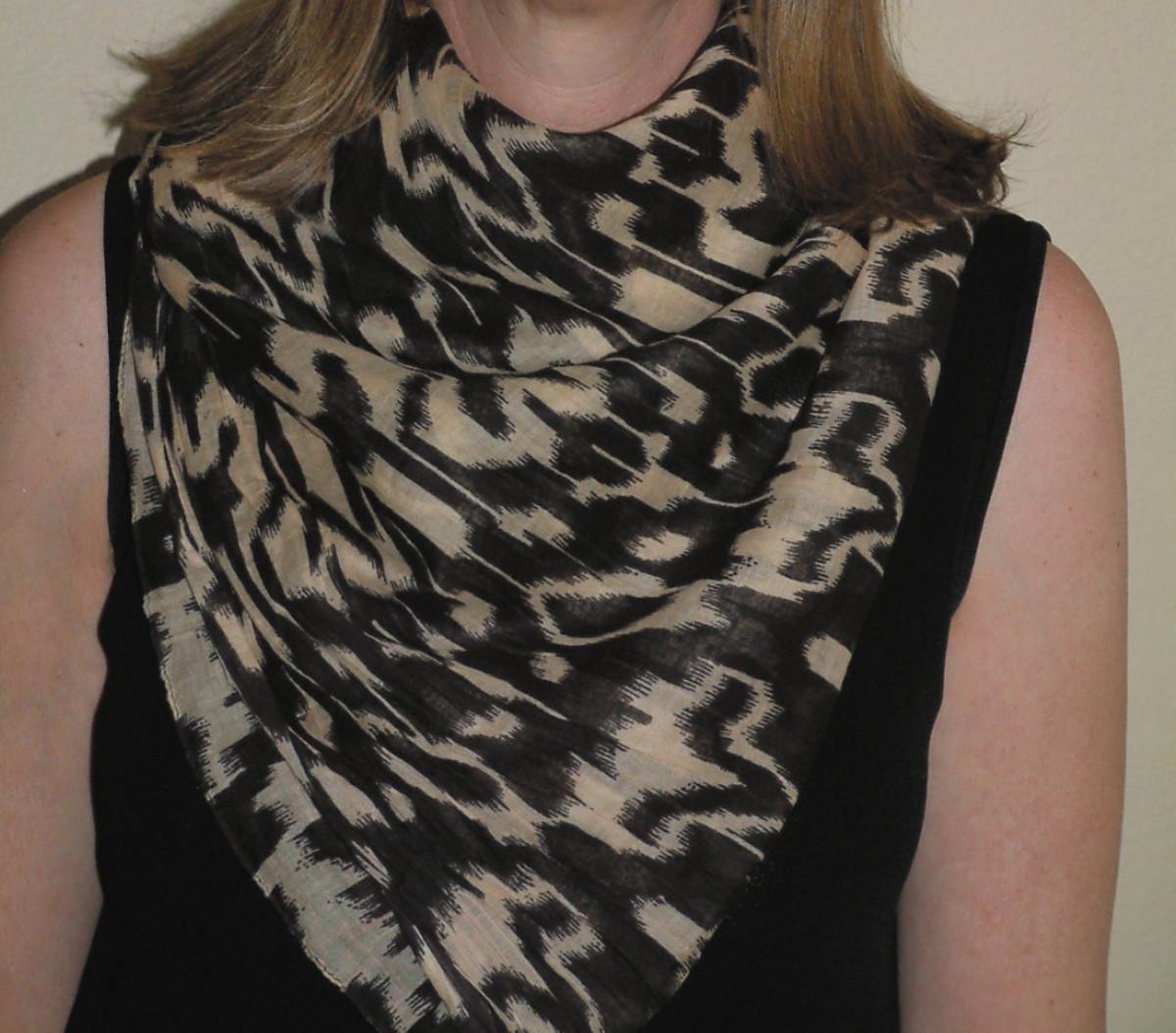 A perfect muffler scarf!