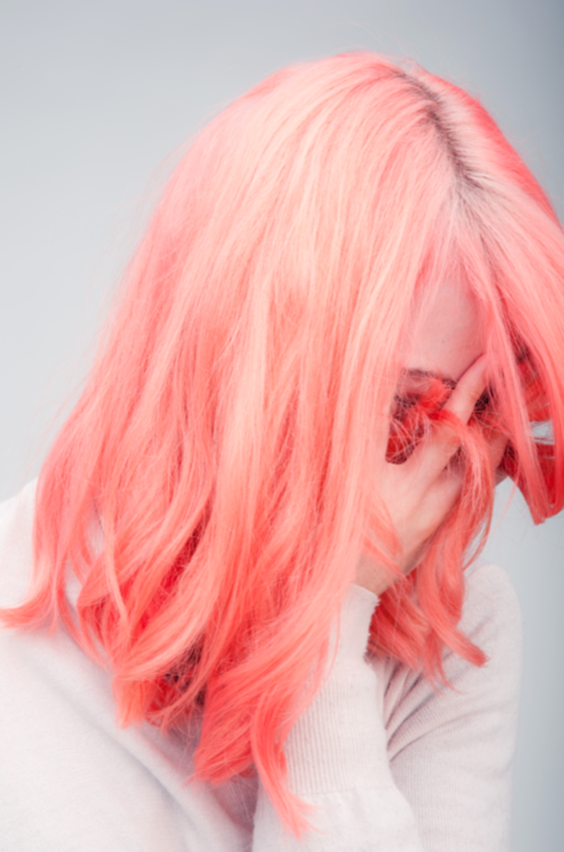 Unless you have extremely light hair to begin with, you'll have to use bleach to get your perfect pastel do.