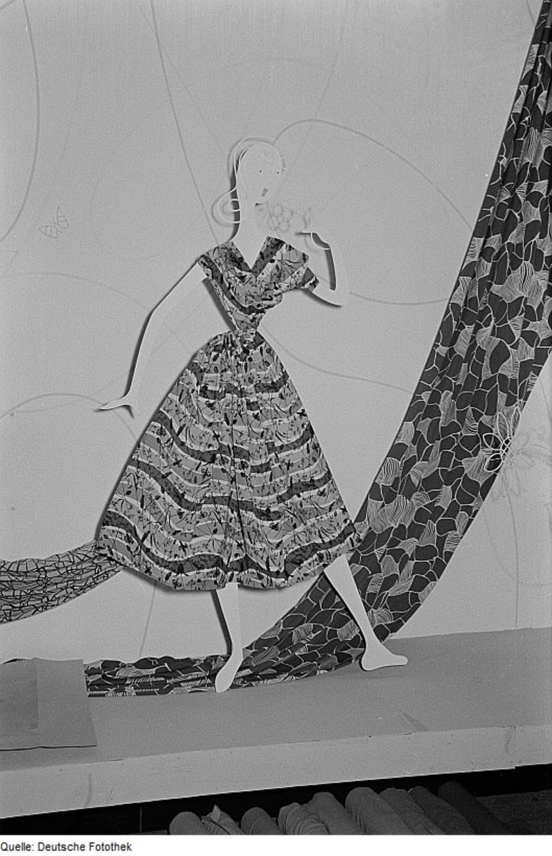 Dress circa 1954
