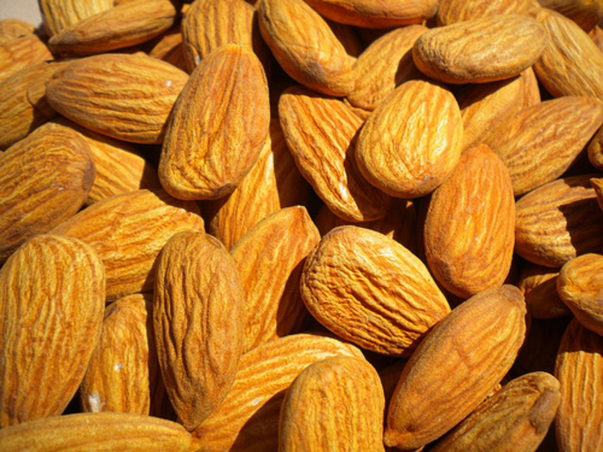 The fragrant oil of almonds helps tone and moisturize facial skin.