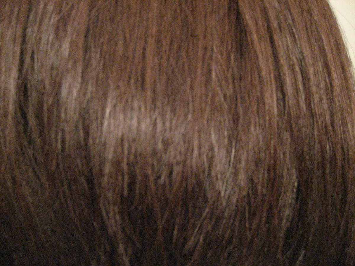 After Picture WITH Camera Flash: Cool Brown Color