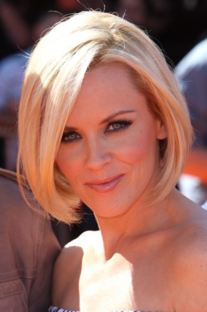 A short, flirty bob is fun and can be styled many different ways.