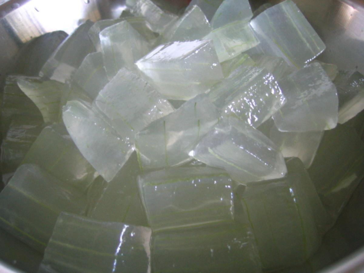 Fresh Aloe Vera pulp