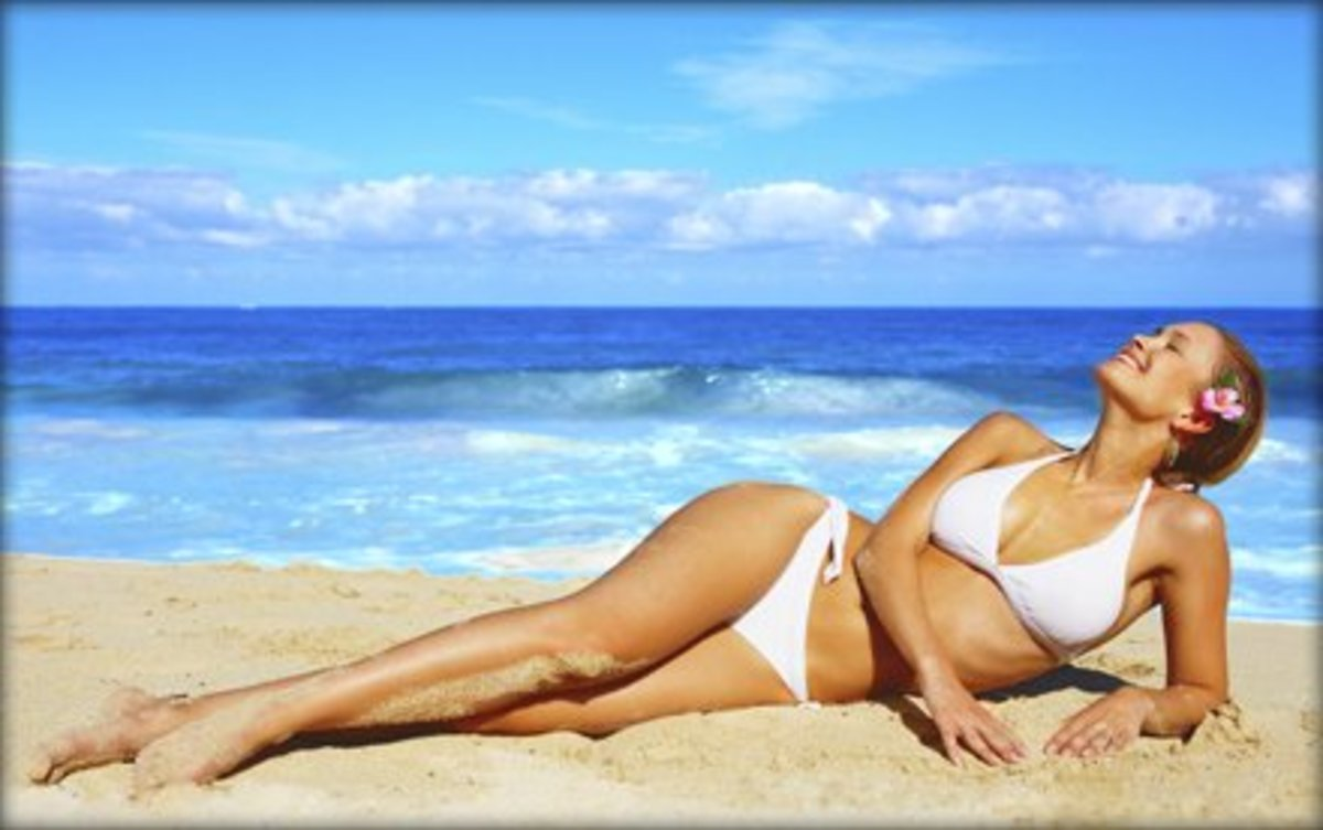 Get beach-ready overnight without damaging your skin with self tanning products
