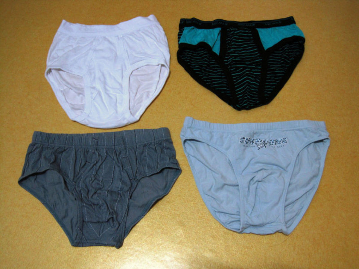 Changing your underpants just for the sake of changing them is a sure sign of insanity.