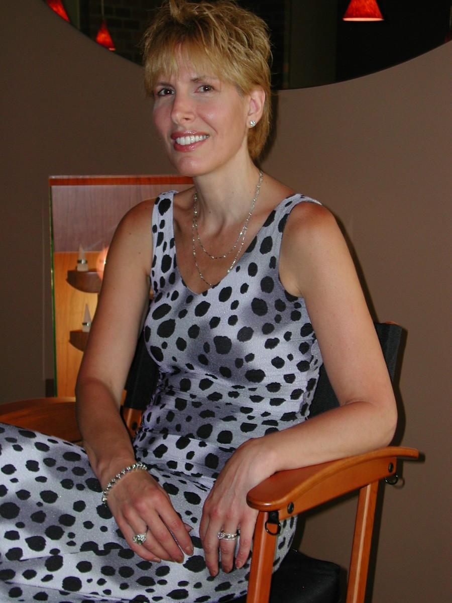Me, in the Jewelry Studio.