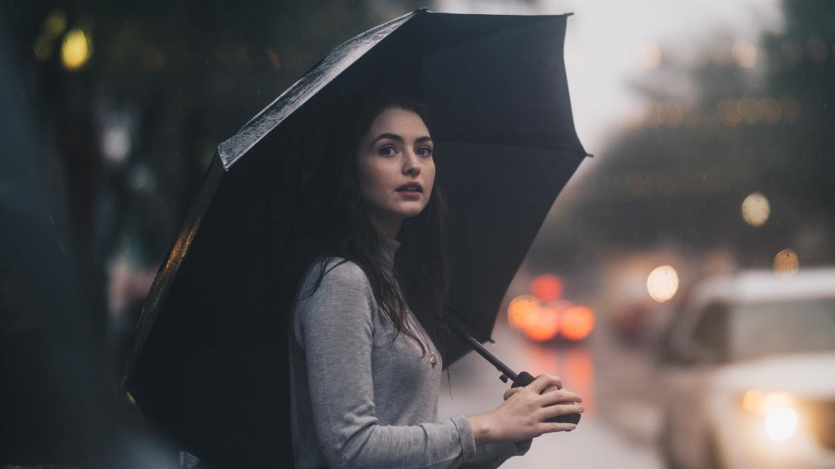 Make sure to carry an umbrella when it rains so that the water doesn't ruin all the hard work you put into your appearance!