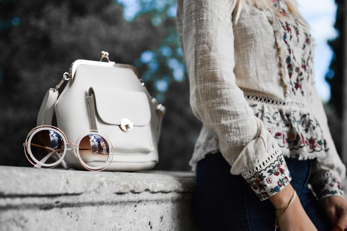 Style is all about the accessories. Don't be afraid to change it up!