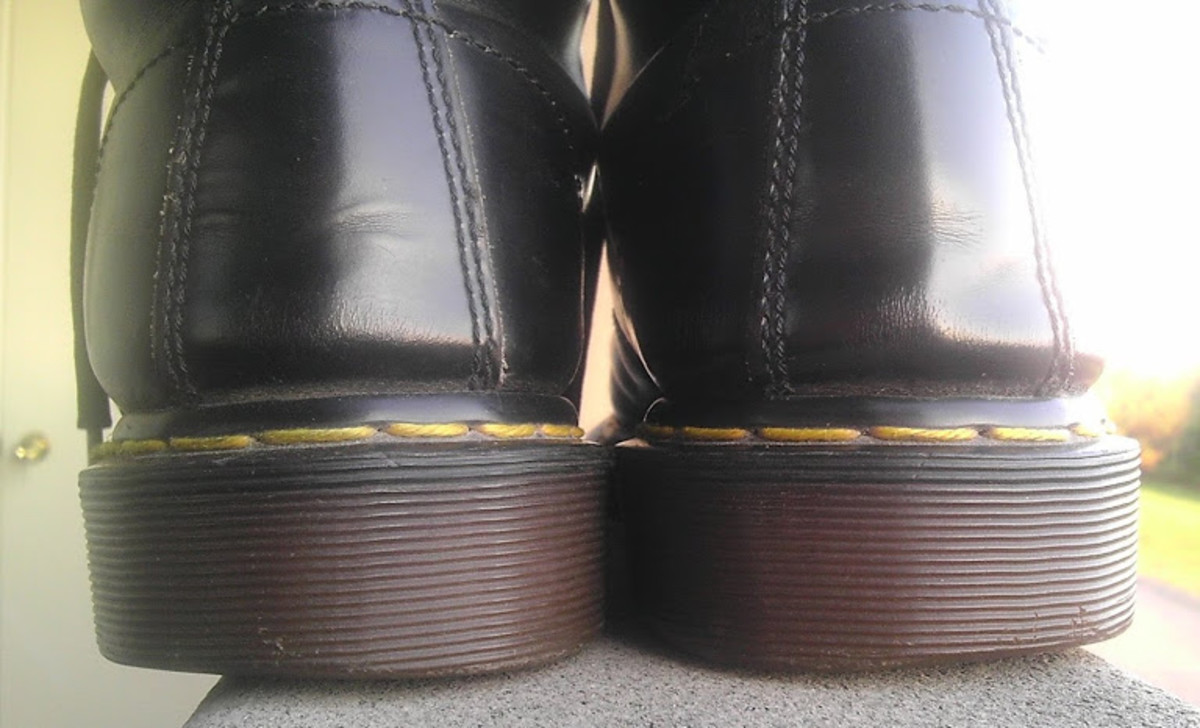 Doc Martens will rub against the backs of your feet or ankles as you break them in.