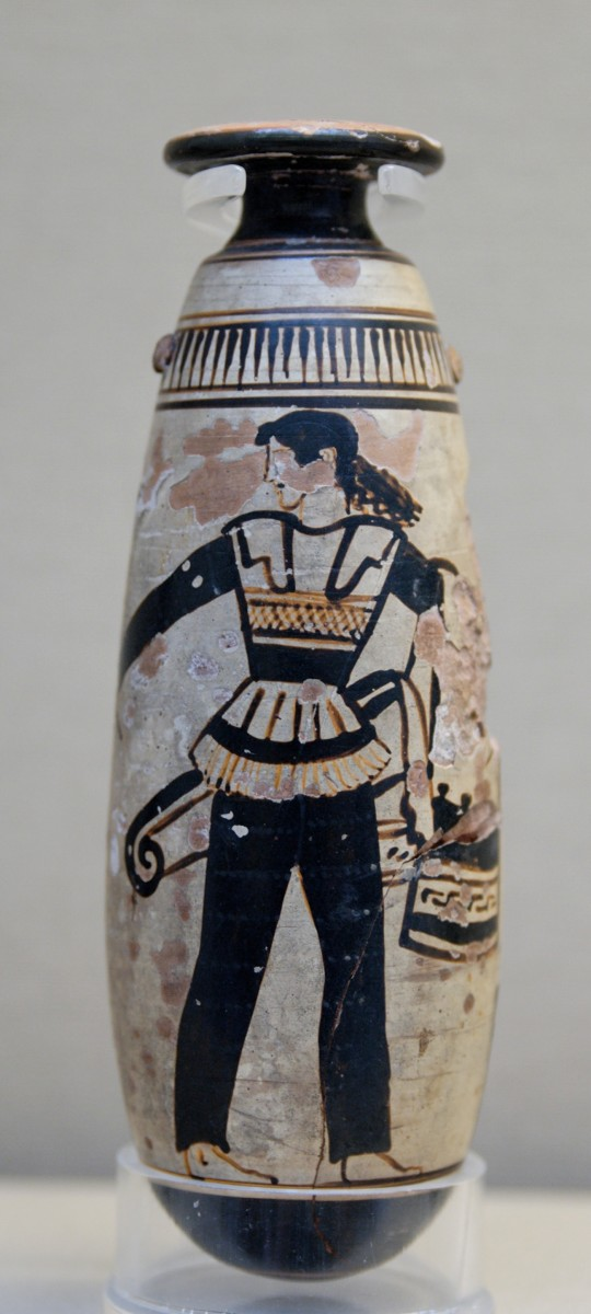 Amazon: A Woman Wearing Pants circa 470 BC (BCE)