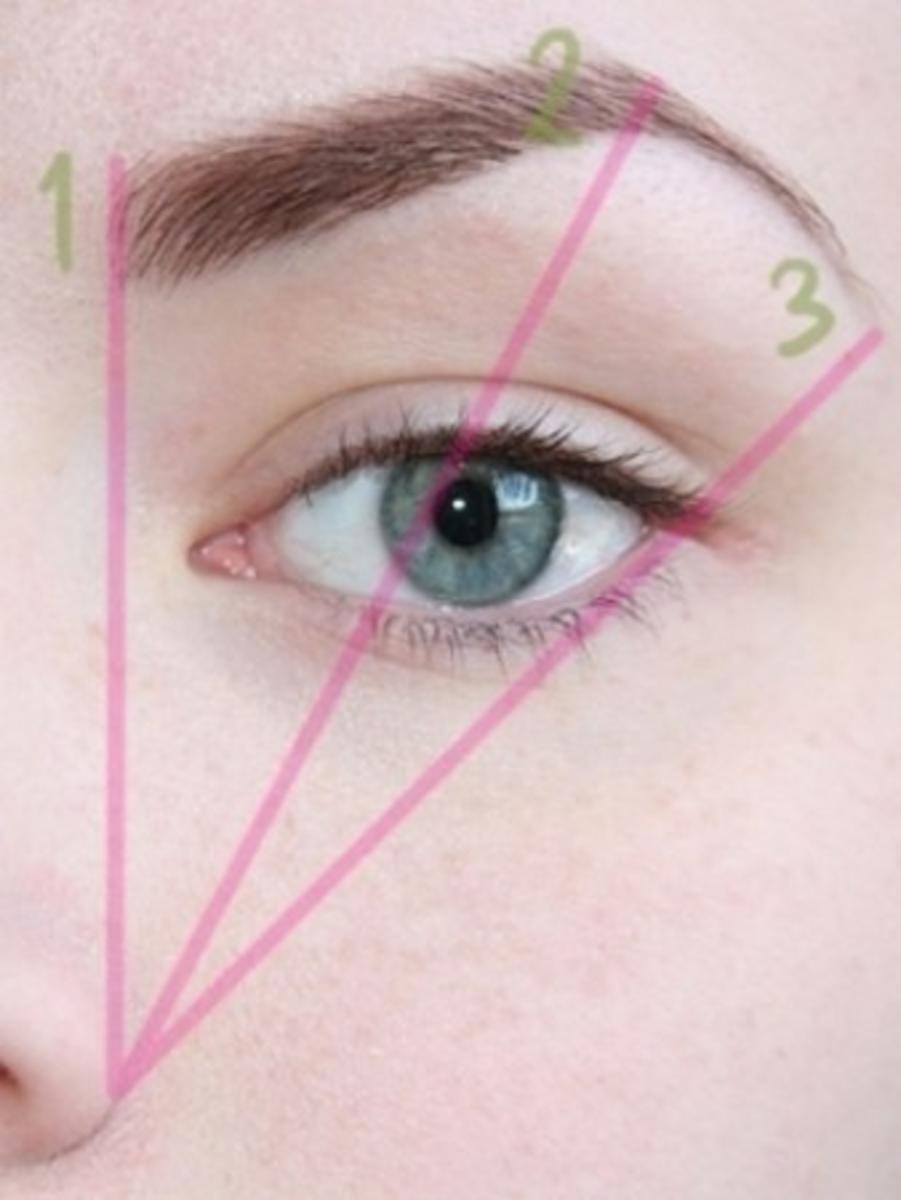 Shaping eye brows