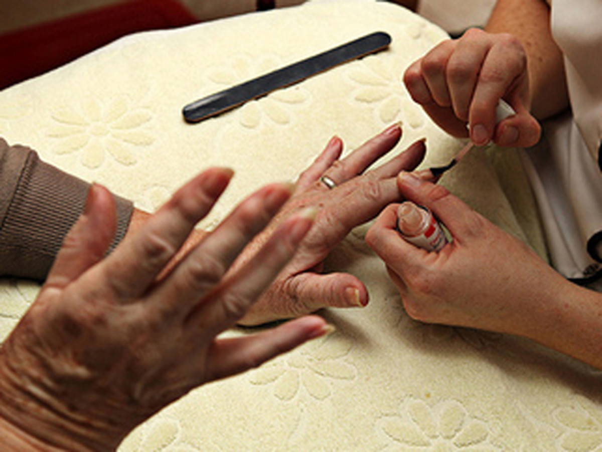Mix the nail polish! It can cause unnecessary damage to your aging nails.