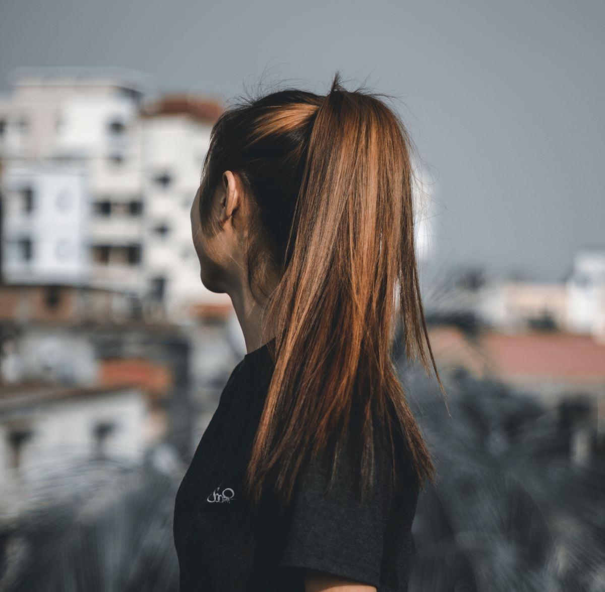 High ponytails are a big no-no!