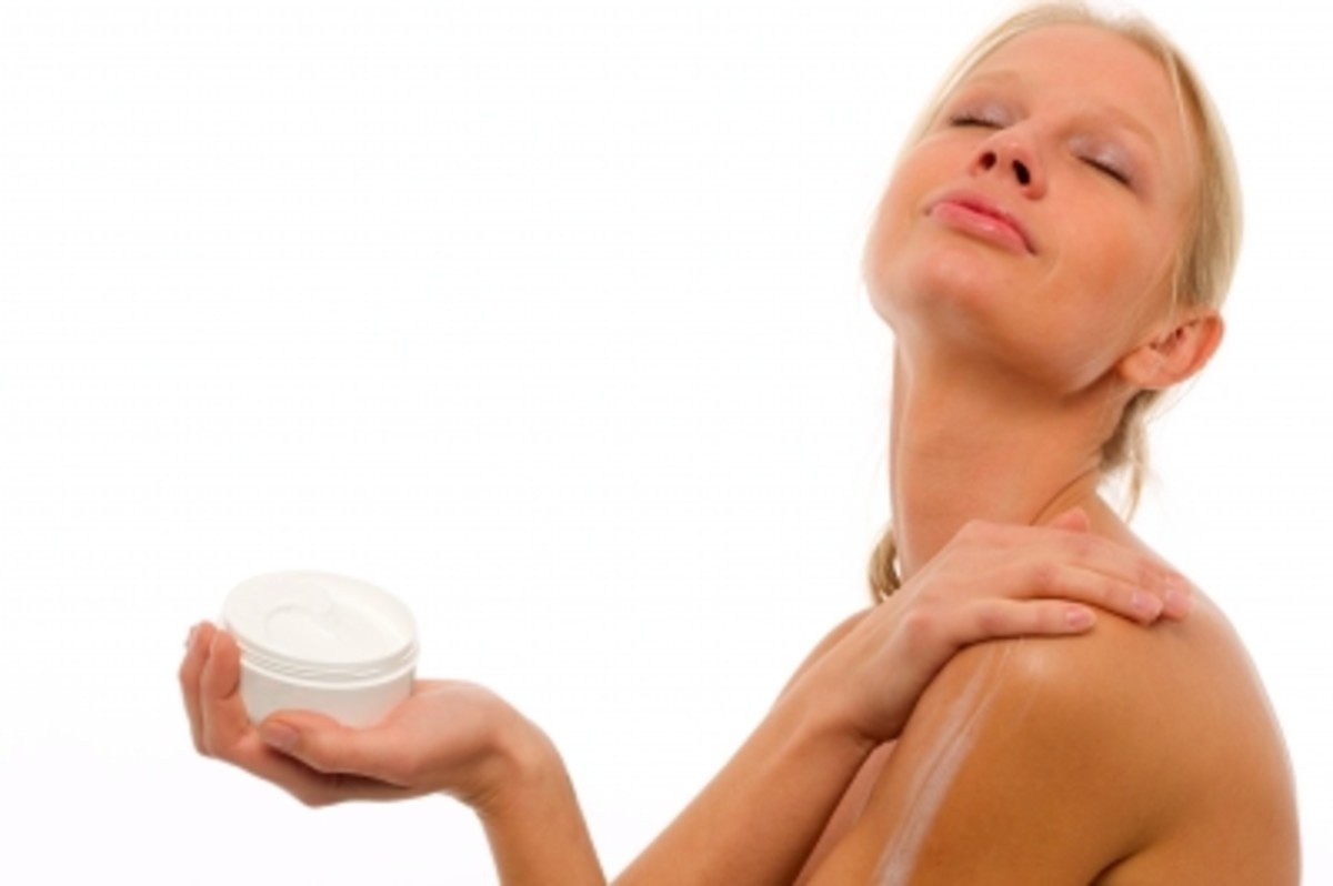 using a body lotion or body cream in your fragrance helps intensify the scent making it last longer.