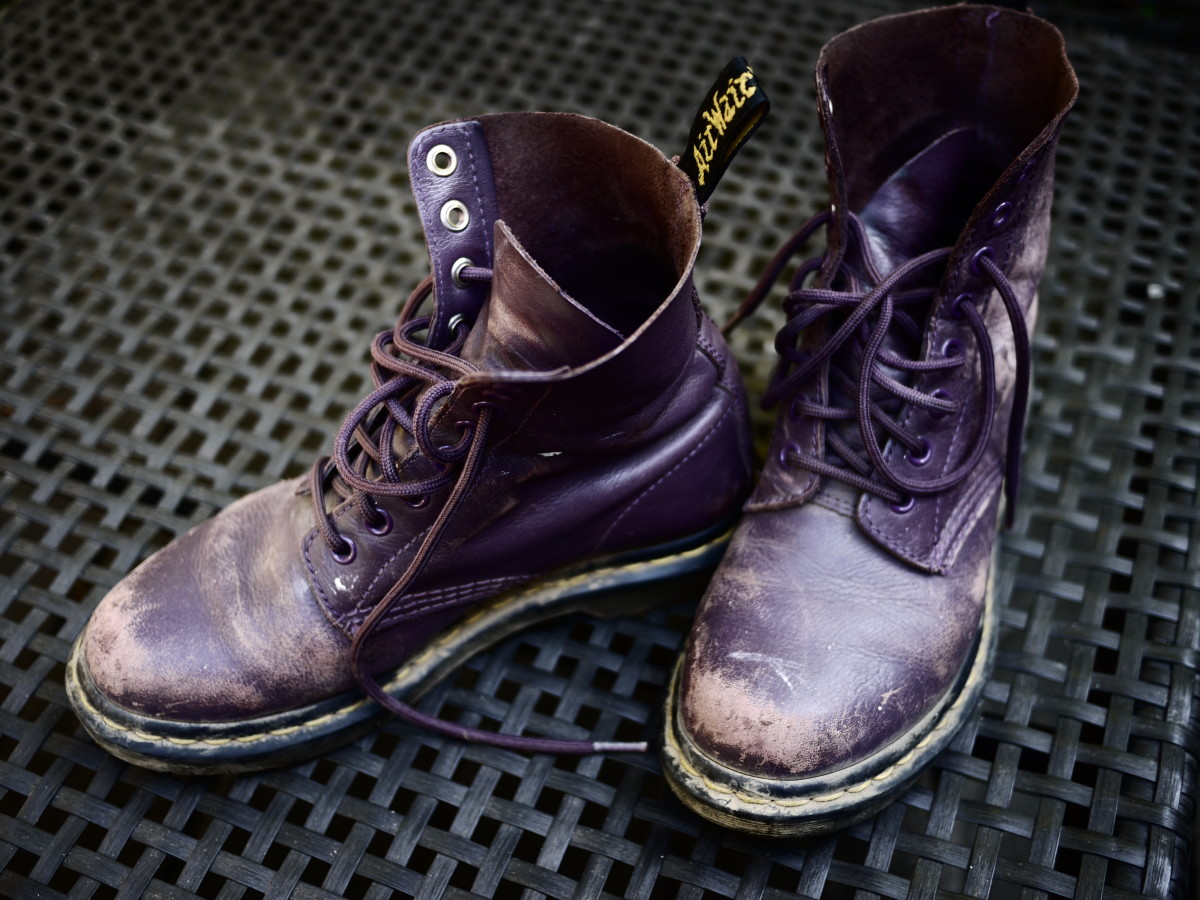 Dr. Martens: The older they get, the comfier they get and the cooler they look.