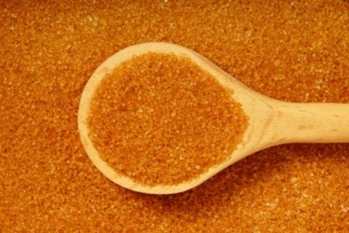 Sugar is a natural skin exfoliate that also tastes good!