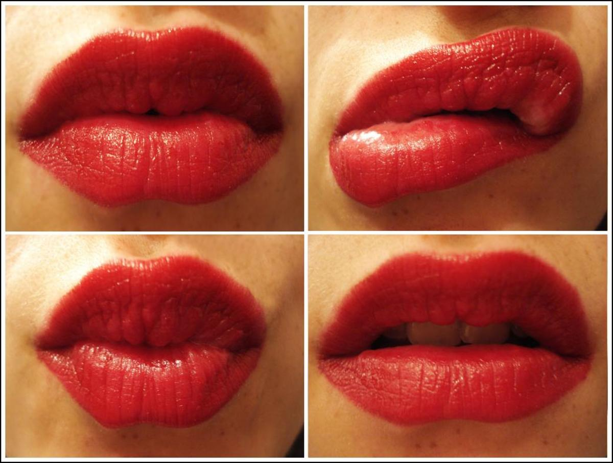 by doing a weekly lip scrub will make our lips supple and help prevent lips drying out.