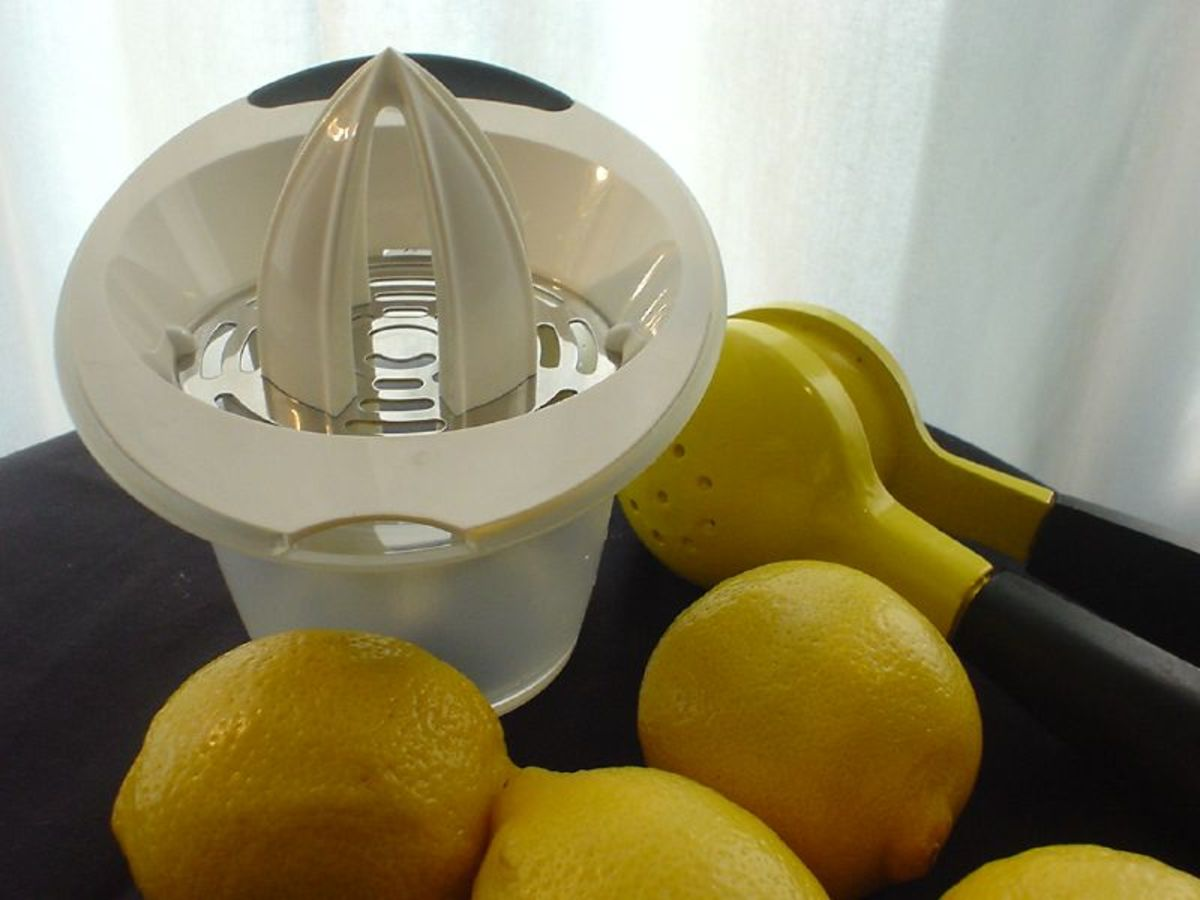 makes short work of juicing lemons and other citrus fruits.