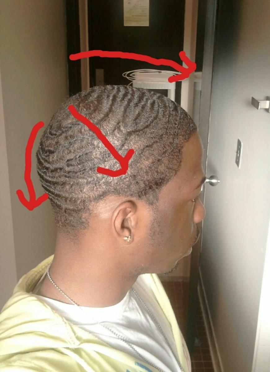 natural shampoo 360 waves