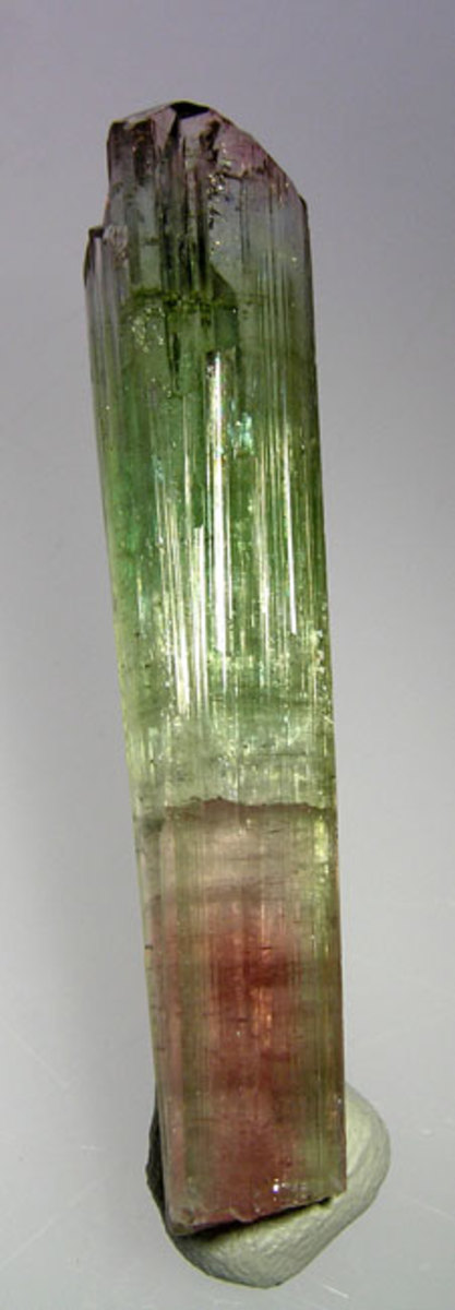 Tourmaline is known for having multiple colors. How rich and saturated the color is can greatly affect value.
