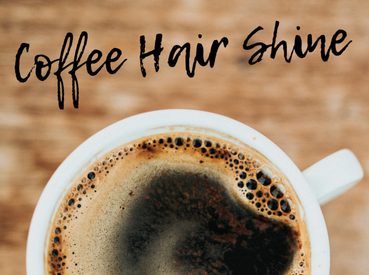 Coffee Hair Shine