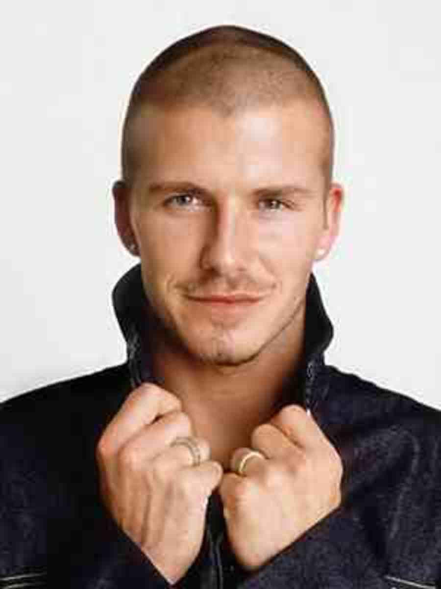 David Beckham: Beautiful Buzzcut!