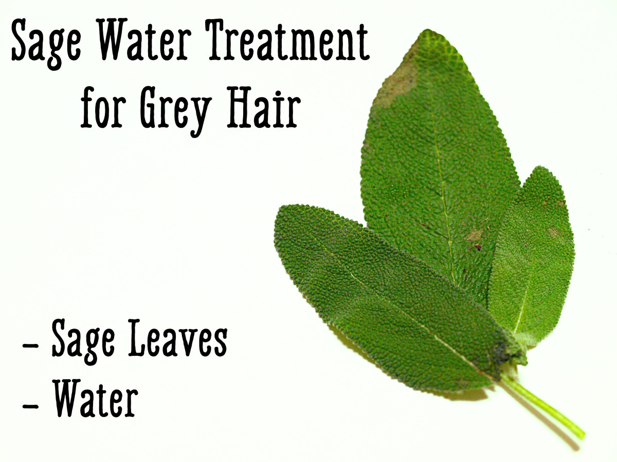 Sage can also be used to make an effective natural dye to hide grey hair.
